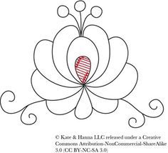 Hungarian embroidery pattern and tutorial
