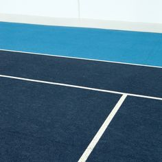 Blue is the colour for the Australian Open.