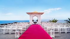 The Ritz-Carlton, Abama WEDDING IN FUNICULAR TERRACE The blue of the sky and the ocean will accompany you on the most special day of your life
