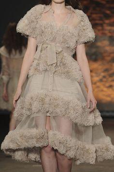 Frills: The Neutrals #florals #fashion