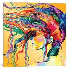 Windswept / Acrylic painting, By Linzi Lynn (Saatchi Online Artist). Psy Art, Inspiration Art, Saatchi Online, Arte Pop, Art Plastique, Oeuvre D'art, Love Art, Amazing Art, Awesome