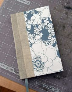 I already know how to make books, but this tutorial for a stab sewn binding is super easy!!
