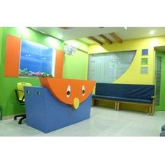 Children Hospital Interior Design Services Healthcare Design, Midwifery, Childrens Hospital, Medical Center, Interior Design Services, Corridor, Pediatrics, Paint Ideas, Nurses