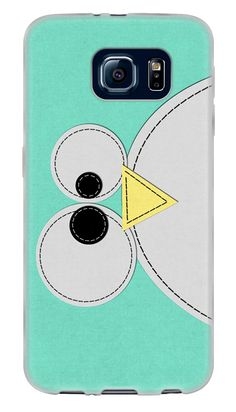 Amazon.com: Green, White and Yellow {Cute Farm Animals Bird} Soft and Smooth Silicone Cute 3D Fitted Bumper Back Cover Gel Case for Samsung Galaxy S6: Cell Phones & Accessories