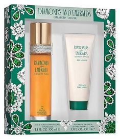 Emeralds by Elizabeth Taylor Gift Set Women's Perfume - 2pc. Give your mom something special. #ad