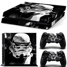 Full Body Game Skin Vinyl Sticker Decal für PS4 Playstation 4 Console and Controllers - Star Wars
