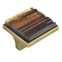 tirador pomo de mueble cuad vidrio artesanal ambar cuero mate diseno italiano luxury comprar tienda venta online 10189ab