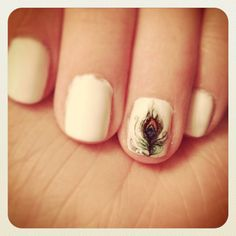 Hey, I found this really awesome Etsy listing at https://www.etsy.com/listing/155695750/little-peacock-feather-nail-decals