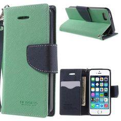 Köp Mercury Fancy Diary Case iPhone 5/5S/SE turkos online: http://www.phonelife.se/mercury-fancy-diary-case-iphone-5-5s-se-turkos