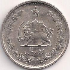 Motivseite: Münze-Asien-Iran-ریال-٢-2536-2537