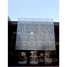 Laser Cut Screens, Laser Cut Panels, Metal Panels, 3d Panels, Window Privacy Screen, Privacy Panels, Patio Privacy, Retail Architecture, Industrial Architecture