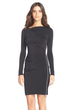 Needle & Thread 'Twisted' Side Zip Georgette Sheath Dress available at #Nordstrom