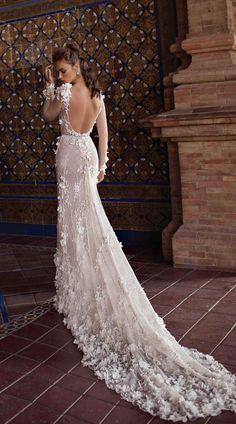 Courtesy of Berta wedding dresses; www.berta.com #weddingdresses
