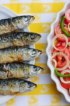 Grilled sardines, a delicacy. , Portugal...like theese