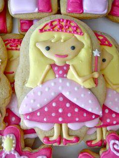 .Oh Sugar Events: Royal princess Cookies