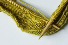 Have to try herringbone stitch!