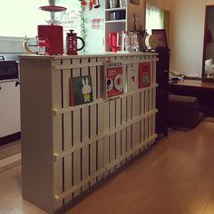 築40年なんて関係ない!/カフェ風 キッチン/DIY/マガジンラック/RoomClip mag用…などのインテリア実例 - 2016-01-24 09:03:59 | RoomClip(ルームクリップ)