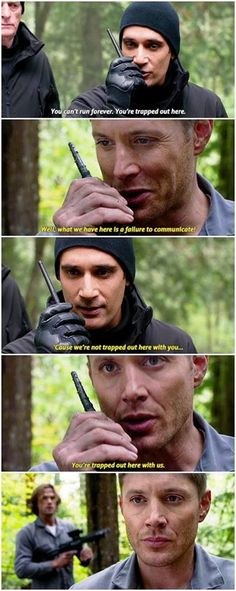 That has to be my favorite episode in Season 12 (besides 12x22). It just really shows what bad ass mutherfuckers the Winchesters are.
