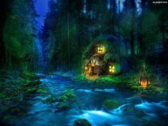 imagenes de bosques de luz y fantasia - Buscar con Google