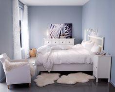 7 Errores que cometemos al reformar el dormitorio #hogarhabitissimo #nordic     Dormitorio con pintura azul