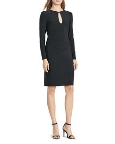 Lauren Ralph Lauren Keyhole Dress | Bloomingdale's