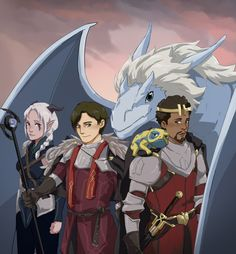 Rayla Dragon Prince, Prince Dragon, Dragon Princess, Fanart, Dragon Prince Season 3, Rayla X Callum, Dragons, An Elf, Cartoon Games