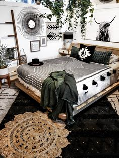 Western Bedroom Decor, Western Rooms, Cowgirl Bedroom, Room Ideas Bedroom, Home Decor Bedroom, Casa Top, Deco Boheme Chic, My New Room, Room Inspiration