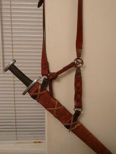 Viking scabbard suspension -- myArmoury.com