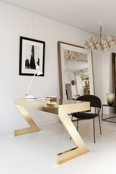 Shop desks at Chairish, the design lover's marketplace for the best vintage and used furniture, decor and art. Modern Art Deco, Modern Desk, Mid-century Modern, Art Deco Desk, Mid Century Modern Art, Writing Desk, Console Table, Home Office, Furniture Design