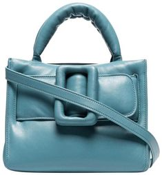 e4ccac7b2fa Small Bobby 23 Blue Quilted Puffer Lambskin Leather Cross Body Bag