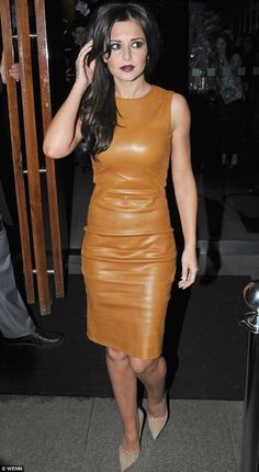 Cheryl Cole goes hell for leather in tight nude dress at Kimberley Walsh's birthday party Tight Dresses, Nice Dresses, Kimberley Walsh, Dress Skirt, Bodycon Dress, Blonde Celebrities, Fashionista Trends, Kendall Jenner Style, Kylie Jenner