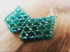 Bekijk dit items in mijn Etsy shop https://www.etsy.com/nl/listing/513103776/prachtige-emerald-oorbellen-van