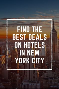 Find the best deals on hotels in New York City at BookingBuddy!