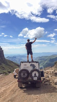 Take a photographic journey with me up the Sani Pass as I travel from KZN into the Mountain Kingdom of Lesotho in a Series 1 Land Rover. Kwazulu Natal, Outdoor Life, Childhood Memories, South Africa, Beautiful Homes, Monster Trucks, Landscapes, Journey, African