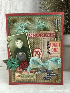 Richele Christensen: 12 Tags of Christmas Card Series - May 12 Tag of 2015