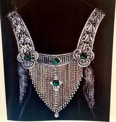 Jeweled armor by Chaumet - a 1920 devant de corsage design
