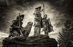 Lewis and Clark Sculpture