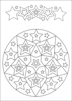 simple free mandalas 31 coloring pages printable and coloring book to print for free. Find more coloring pages online for kids and adults of simple free mandalas 31 coloring pages to print. Mandala Coloring Pages, Coloring Book Pages, Coloring Pages For Kids, Coloring Sheets, Theme Noel, Free Printable Coloring Pages, Colorful Drawings, Christmas Colors