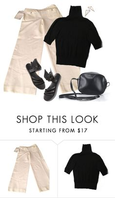 """""""Untitled #6864"""" by lisa-holt ❤ liked on Polyvore featuring Chanel, H&M and J.Crew"""