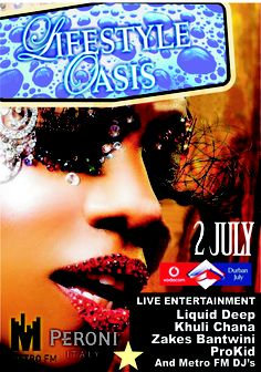 The Lifestyle Oasis Village at Vodacom Durban July