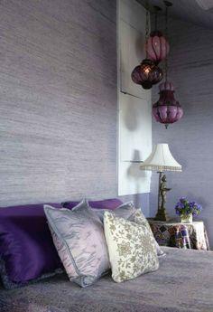 Designer Jamie Drake featured Extra Fine Arrowroot 1968 Hyacinth for a design. Master Bedroom, Bedroom Decor, Transitional Bedroom, Pink Room, Interior Design Inspiration, Room Interior, Interior Decorating, Decorating Ideas, Jamie Drake