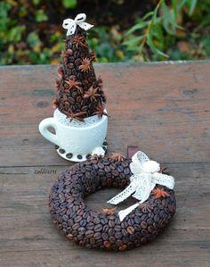 Facebook - Zöldeszti képe Ajándék egy Baristának . illatos dísz :)