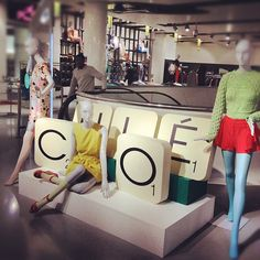 Chloé gets OUR triple-word score at Selfridges (originally taken by girlswear with Instagram)