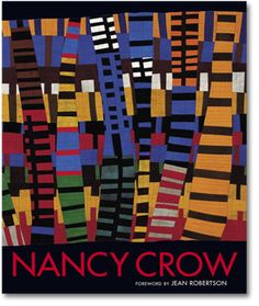 Book of Quilts by Nancy Crow.  I have this book, and love looking at it when I need a new idea.  The only problem with art books of any kind is that you know by the time the book has  been published, the artist has moved on to something new.