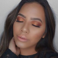 Pure  pigment. @monair using our Ablaze #CoverShotPalette with blendable, fiery shadows. #regram