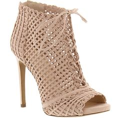 Jessica Simpson Rendy Women's Pink Boot 8.5 M ($119) ❤ liked on Polyvore featuring shoes, boots, ankle booties, pink, pink ankle boots, high heel boots, short boots, jessica simpson boots and high heel ankle boots