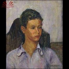 Título :Figura de menino Artista :Annita Catarina Malfatti - Anita Malfatti - Anita Malfati Técnica :Óleo sobre Tela Dim. :47 x 39 cm