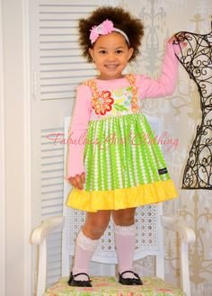 Fabulous Girl Clothing bringing you deliciously cute fashions (made in the USA!) to your very own Fabulous Girl, sizes 2-10. #FabulousGirlClothing www.FabulousGirlBoutique.com