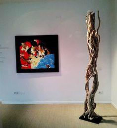 ivy roots art  installation