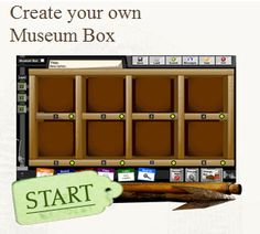 This lesson plan has your class creating their own museum by adding an artifact of their choosing from every lesson during the year.  MuseumBox.com